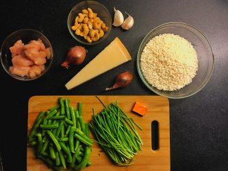 Recept: Risotto met kip, bieslook en cashewnoten