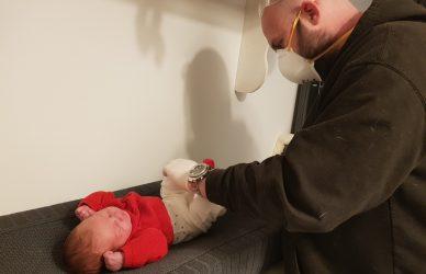 Eerste keer vader