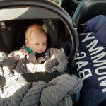 Baby mee in auto